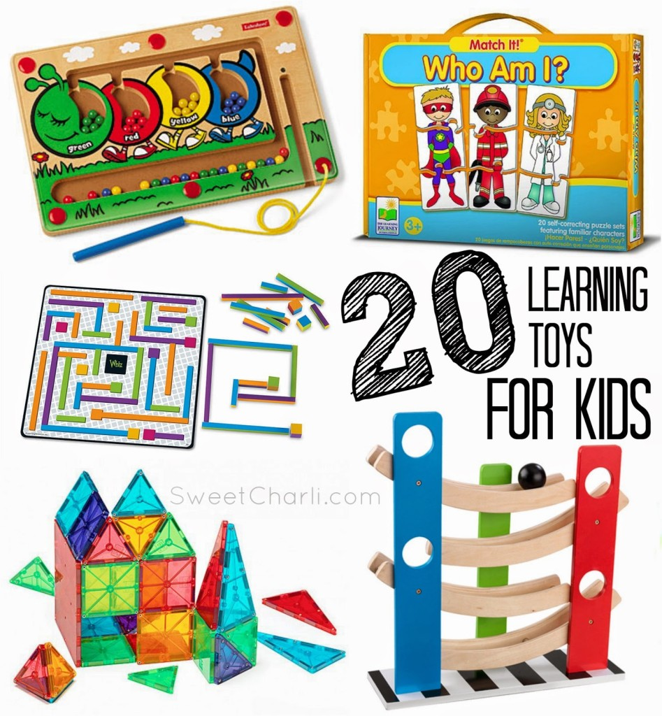 20 Learning Toys for Kids