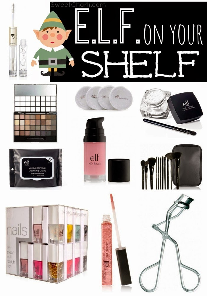 ELF (cosmetic items) on my Shelf!