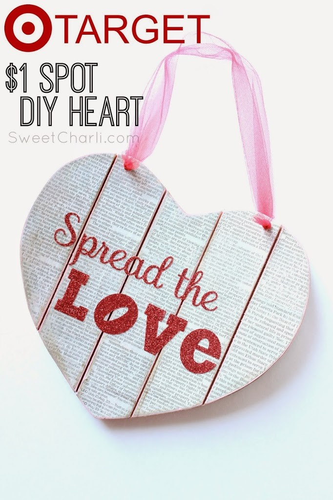 Start Spreading the Love – Target $1 Spot Challenge