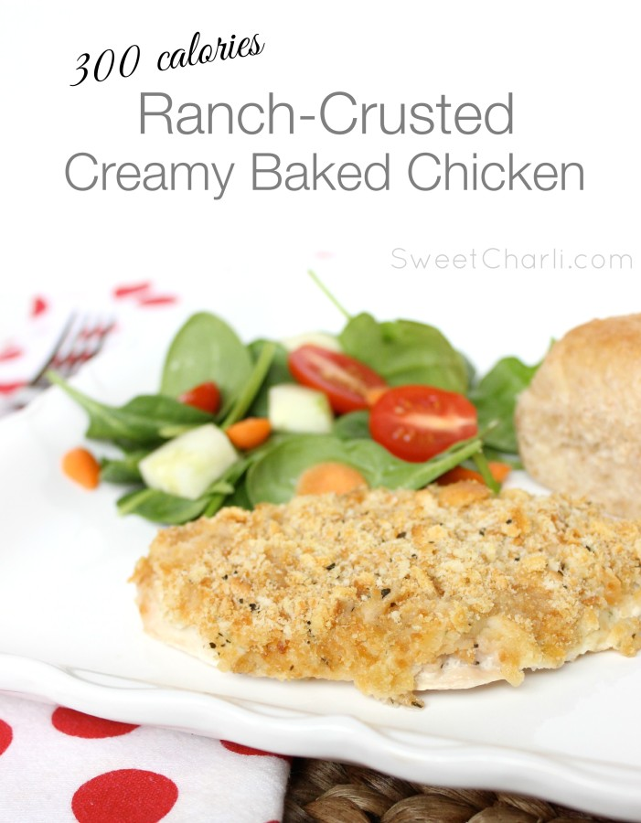 healthy ranch baked chicken