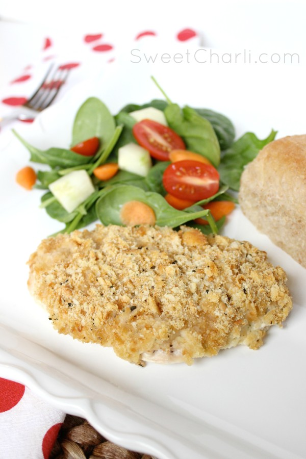 ranch crusted creamy baked chicken
