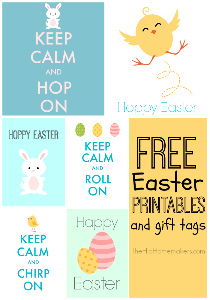 Keep calm free easter printables free easter printables and cute gift tags negle Images
