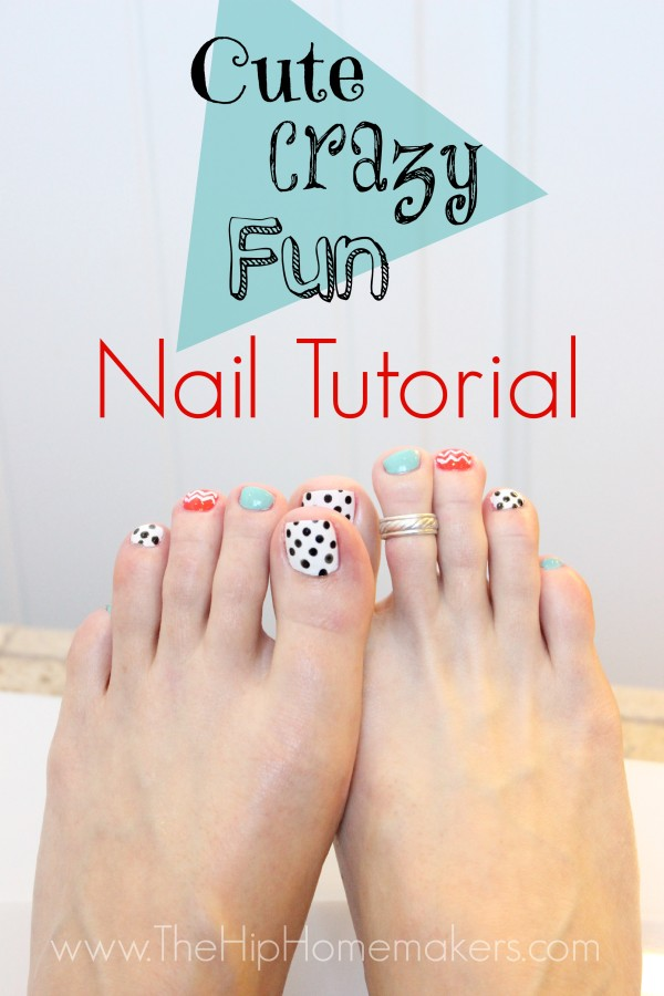 Cute Nail Design That is Easy!