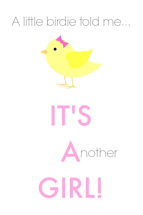 Free gender reveal printables.
