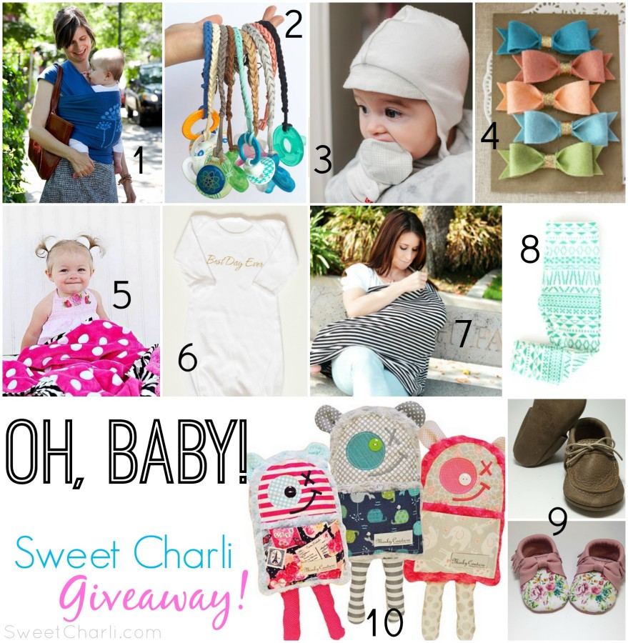 Oh, Baby!  The Ultimate Baby Giveaway!