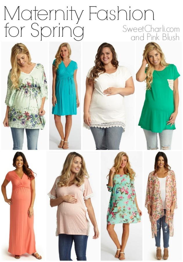 Maternity fashion from pink blush maternity