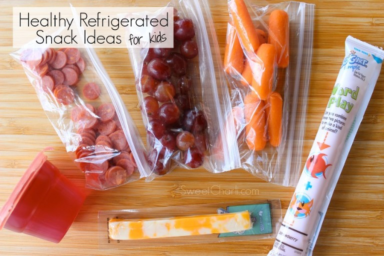healthy refrigerated snack ideas for kids