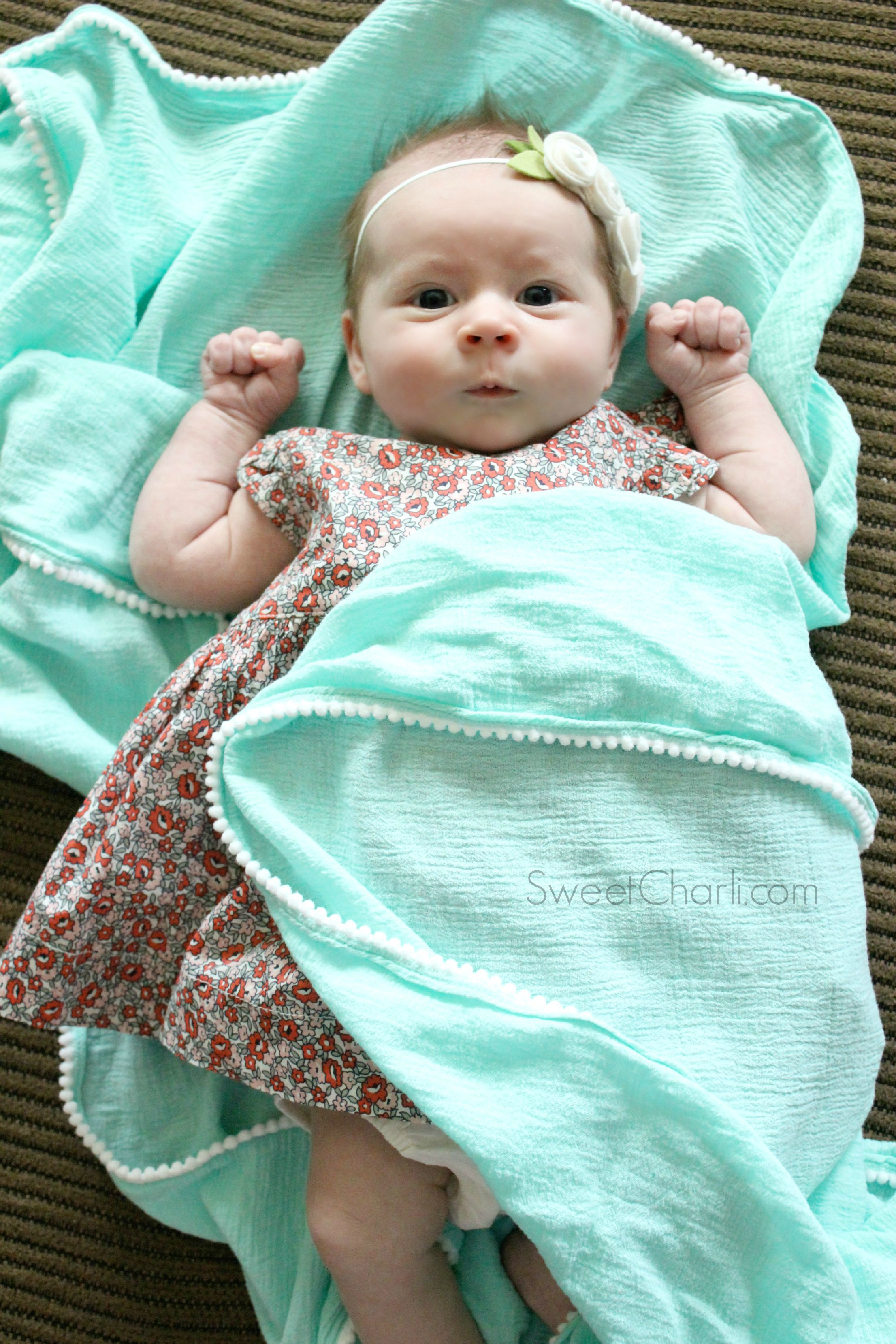 Cute Soft Swaddle Blanket
