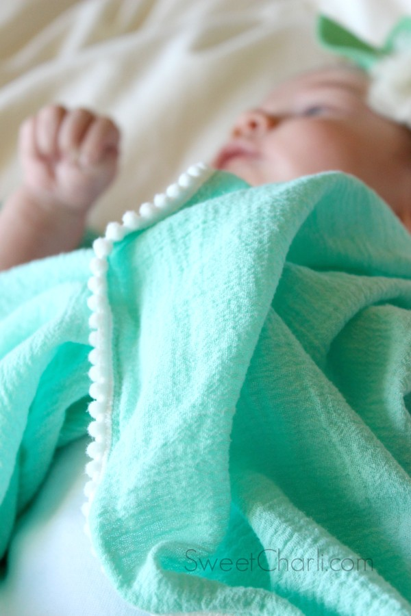 Cute, Soft Swaddle Blanket