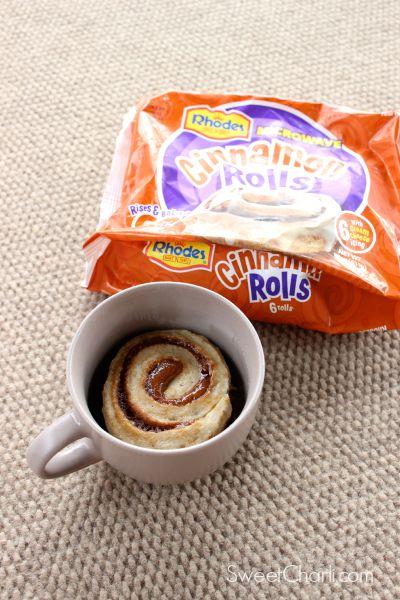 microwave cinnamon rolls