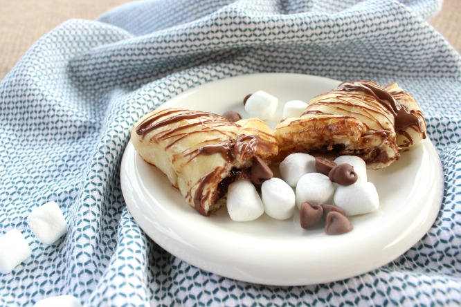 S'mores Filled Croissants