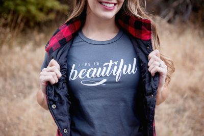 life is beautiful tshirt