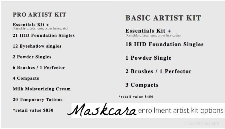 become a maskcara artist