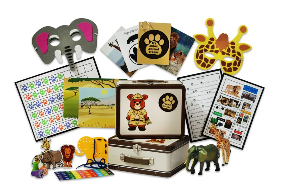 Child's Birthday Gift: Animal Trackers Club monthly subscription for kids