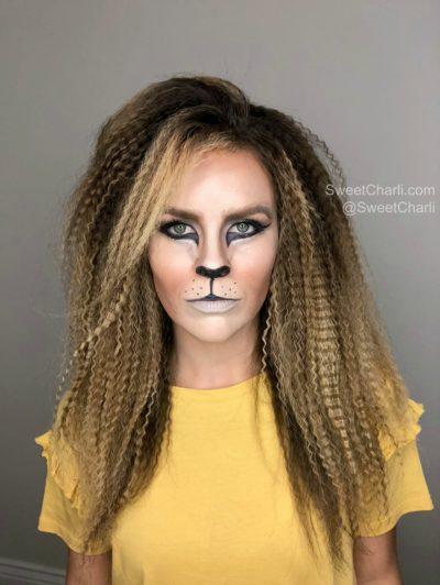 lioness halloween makeup