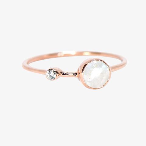 Pura Vida Moonstone Ring